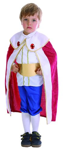 Toddlers King Costume With Red (Toddler King Costume)