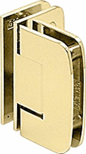 CRL Roman 092 Series Brass 90176; Glass-To-Glass Hinge