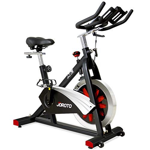 JOROTO Belt Drive Indoor Cycling Bike with Magnetic Resistance Exercise Bikes Stationary (Best Deals On Exercise Bikes)