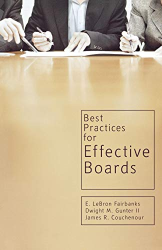 Best Practices for Effective Boards