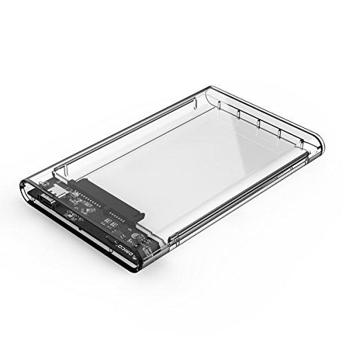 "External Hard Drive Enclosure 2.5"" HDD/SSD USB3.1 Gen1 Type-C To SATA III 5"