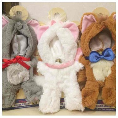 Unibearsity Marie TOULOUSE Berlioz Costume Set New From Japan F/S