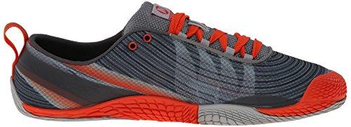 Merrell J03911, Scarpe da Trail Running da Uomo Multicolore (Grey/Spicy Orange)