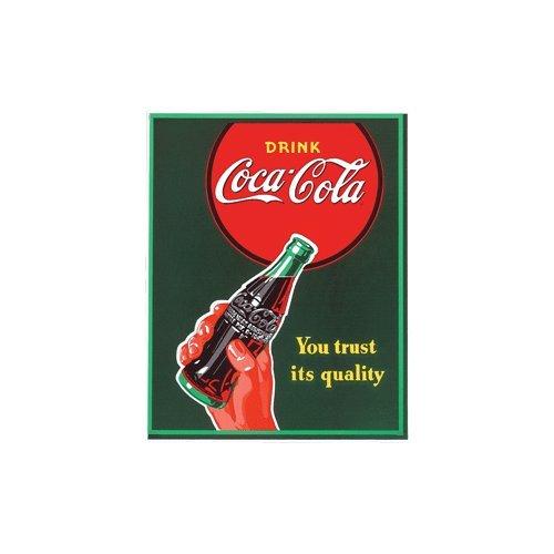 Beba Coca-Cola ¿Confías en la calidad de su Imán Porcelana Nevera ...