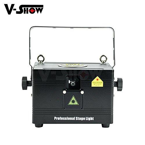 V-Show 1pcs 2W RGB Mini Animation Laser stage laser light
