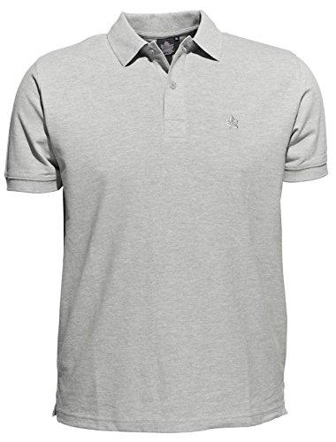 XXL Polo by Ahorn Sportswear - große Größen - grau meliert