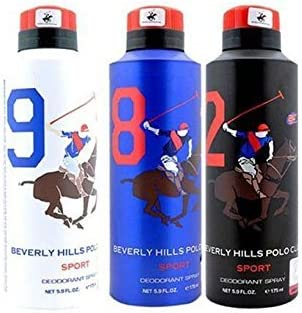 Beverly Hills Polo Club - Desodorante para hombre (3 unidades ...