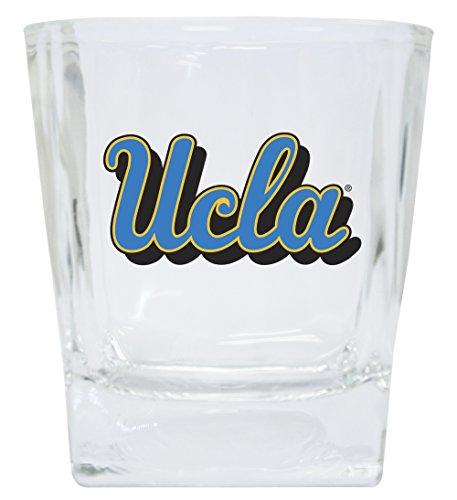 UCLA BRUINS 12OZ SHORT GLASS SET-UCLA DRINK GLASSES-SET OF 2