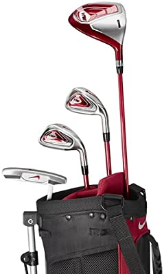 Amazon.com: Nike Golf Kids VRS 5-Piece Step 1 Golf Club Set ...