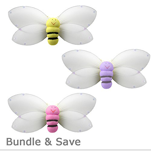 Bumble Bee Mobile Hanging (Bumblebee Decorations Large 13