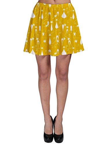 CowCow - Falda - para mujer amarillo