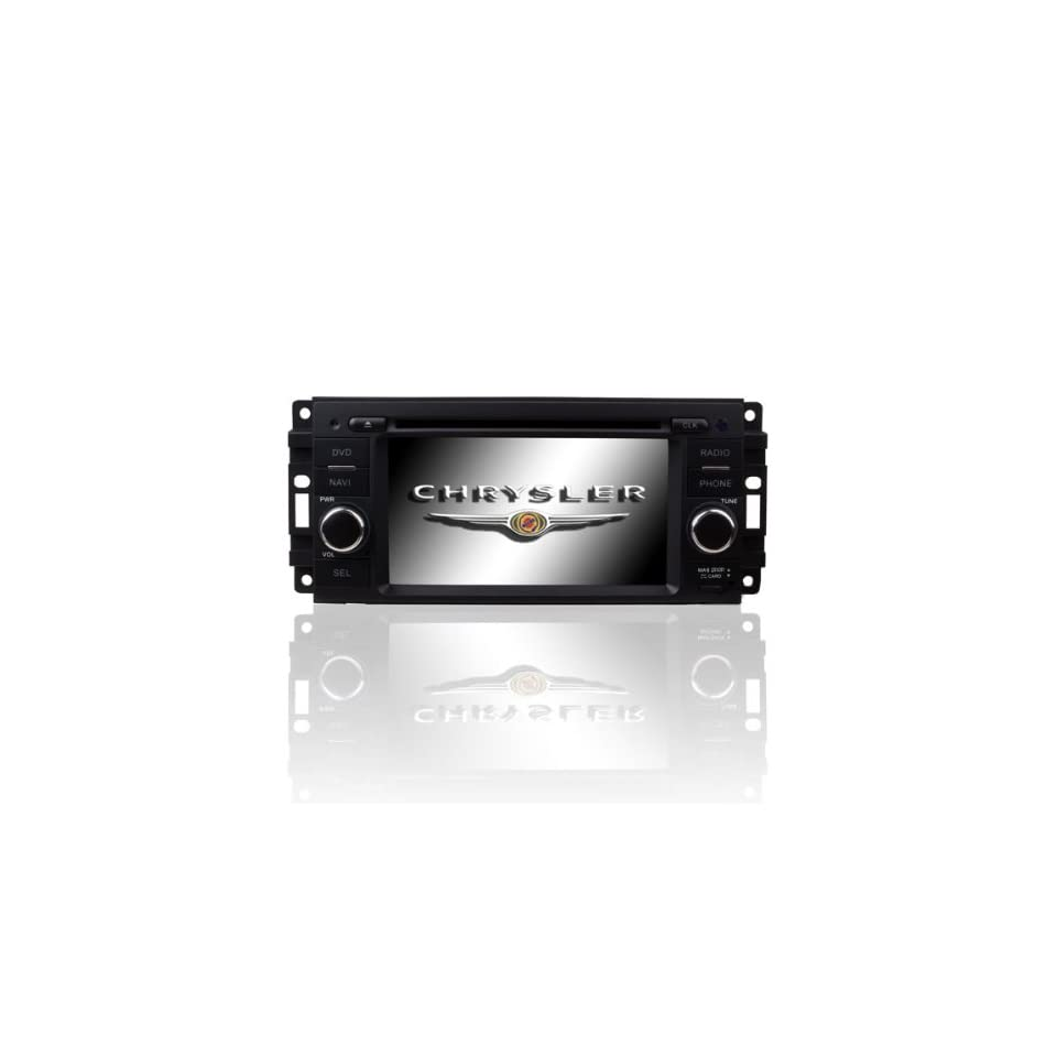In Dash Car DVD Player GPS Radio System For Chrysler Concorde / LHS / Pacifica / PT Cruiser/Sebring / Town & Country