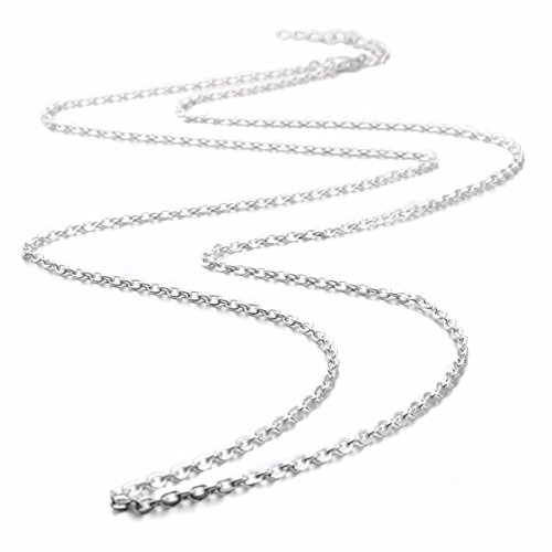 eudora-harmony-bola-accessories-silver-plated-chain-wax-leather-cord-45-inches-necklace