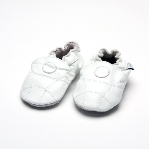 Jinwood - Patucos para niño blanco blanco blanco - blanco