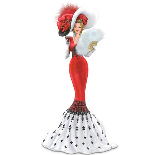 Coca-Cola Elegant Woman Figurine: An Elegant Tradition Of Love by The Hamilton Collection