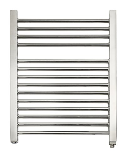 Wall Mounted Electric Towel Warmer (Mr Steam WX29TSSB WX29 14-Bar Wall Mounted Electric Towel Warmer with Digital Timer in Stainless Steel Brushed)