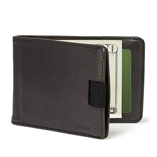 - Distil Union Slim Wallets for Men with FlexLockTM - Minimalist Bifold Wallets with Money Clip (Ink with RFID Shielding)