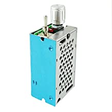 uniquegoods DC Motor Speed Controller Reversible Driver Adjustable Variable speed Switch PWM 120W HHO Reversing CCM2NJ 12V-40V(max) 3A