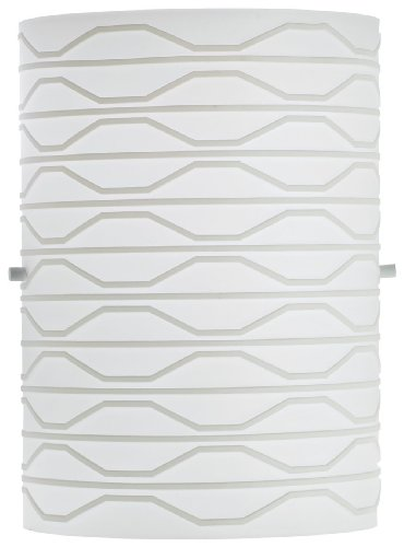 Philips Forecast F503181 Lauren Wall Light, Matte White