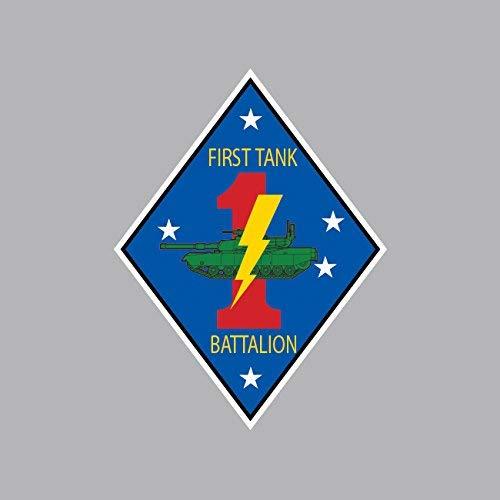 (2nd Battalion 7th Marine Regiment USMC Outline Sticker Vinyl Decal Sticker Made in USA)