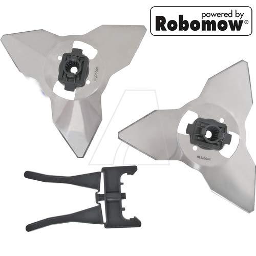 Cuchilla para robot WOLF-Garten Roboscooter 3000 y robot ...
