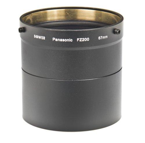 Bower AFZP200 Panasonic FZ200 67 mm Adapter Tube (Black)