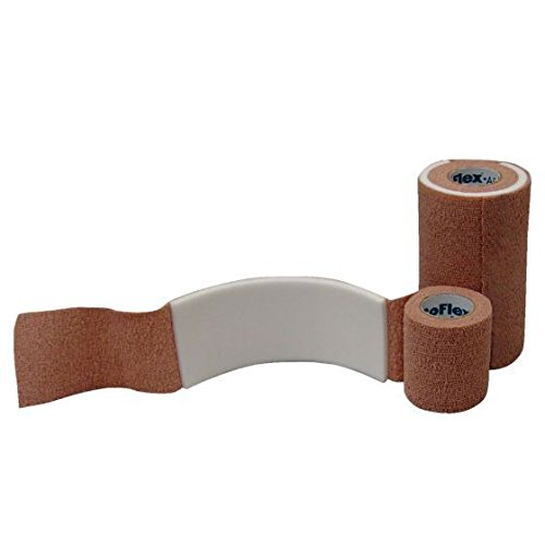 Physical Therapy Aids 081433929 Bandage Coflex AFD, 2'' x 2.5 yds, Shape, ()