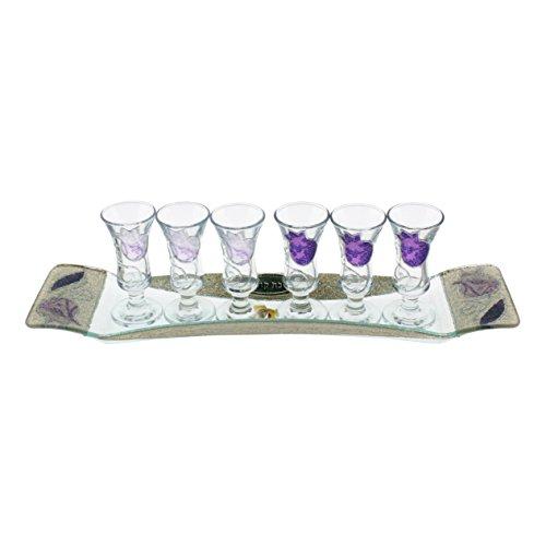 Glass Kiddush Cup - 8