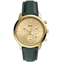 Fossil Neutra Chronograph Quartz Gold Dial 44 mm Watch