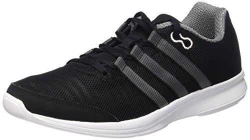 noir essentiel Compétition Femme perspective Chaussures gris Lite Runner adidas noir Blanc W gris essentiel de Running noir 0RBqY