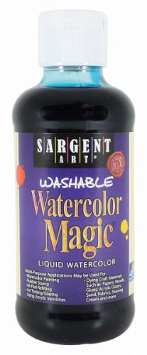 Sargent Art 22-6061 8-Ounce Watercolor Magic, Turquoise ()