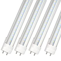 T8 LED Tube Lights Integrated Fixture, 180 Degrees Beam Angle, Fluorescent TubeReplacement