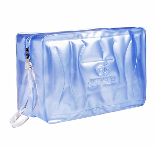 IWin Mall Waterproof Clear PVC Cosmetic Bag Dry Bag Swimming - Mall Stores College