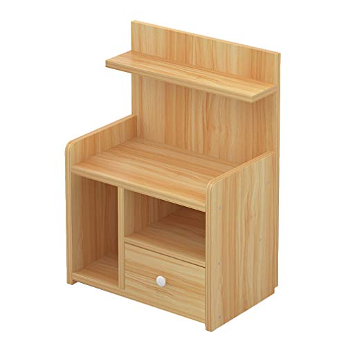 Amazon.com: Nightstands Bedside Tables, Wooden 1 Drawer ...