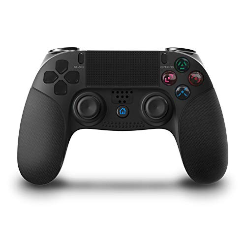 Gamory Controller for PS4, Wireless Controller Gamepad Joystick Gamepad for PlayStation 4//PS4 Slim/Pro/PS3, Touch Panel Controller with Six-axis Dual Vibration Shock and Audio