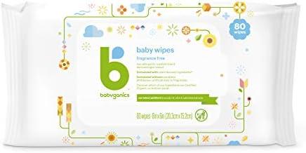 41yOQ1NuZAL. AC - Babyganics Baby Wipes, Unscented, 400 Count, (5 Packs Of 80)