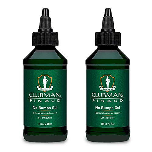 Clubman Pinaud No Bumps Gel, 4 Oz (Pack of 2) ()