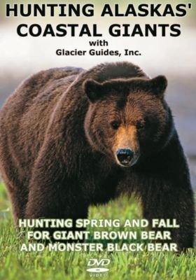DVD de caza con diseño de Alaskas, gigantes costeros ~ café y negro