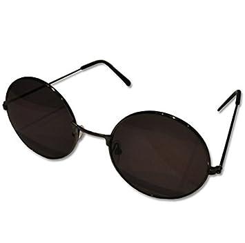 6b7ada4d22d1e rond noir John Lennon style Lunettes de soleil rétro  Amazon.fr ...