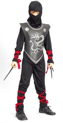 Disfraz de ninja dragon para niño 7 à 9 ans: Amazon.es: Juguetes y ...