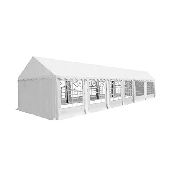 Shengfeng Gazebo da Giardino in PVC 6x12 m Bianco.gazebo pieghevole gazebo da giardino gazebo eurolandia gazebo esterno… 1 spesavip