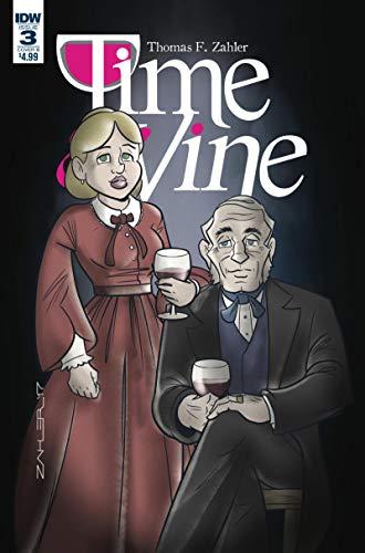 TIME and VINE #3 B, VF+, 2017, IDW, Wine, Bottle, Vino, comic