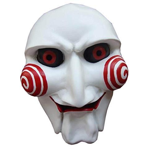 Halloween Horror Ball Party White Kill Devil Makeup Mask Cosplay Masks Demon Devil Helmet Full Face Props Party Halloween Fancy Ball Christmas