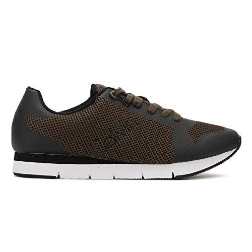 Mesh Uomo HF Jacques Noir Sneaker Klein Calvin qZEwSX
