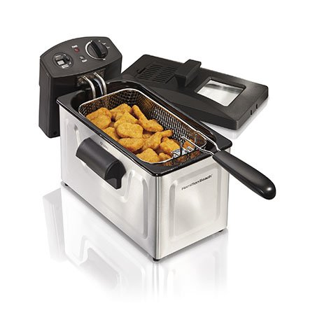 HAMILTON BEACH Professional 35033 Deep Fryer / 35033 / - Hamilton Beach 12 Cup Deep Fryer
