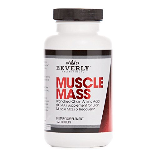 Beverly International Muscle Mass, 150 tablets. No-nonsense BCAA formula. Try this little-known trick for greater lean muscle size.