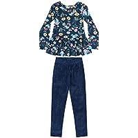 Conjunto Blusa E Calça Legging Infantil Quimby