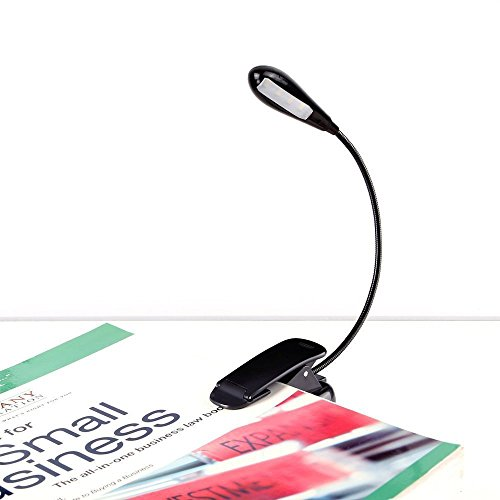 IREALIST Rechargeable Flexible Dimmable Bookworms