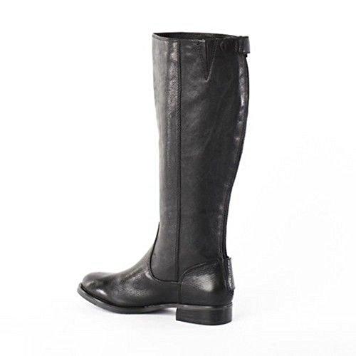 Arturo Chiang Donna Feroce Stivali Di Pelle Nera - M - 5.5 5,5 M