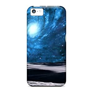 Case Cover Planets And Galaxy/ Fashionable Case For Iphone 5c
